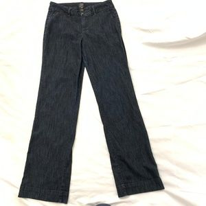 Jag Jeans Size 8 Mid Rise Boot Cut Trouser